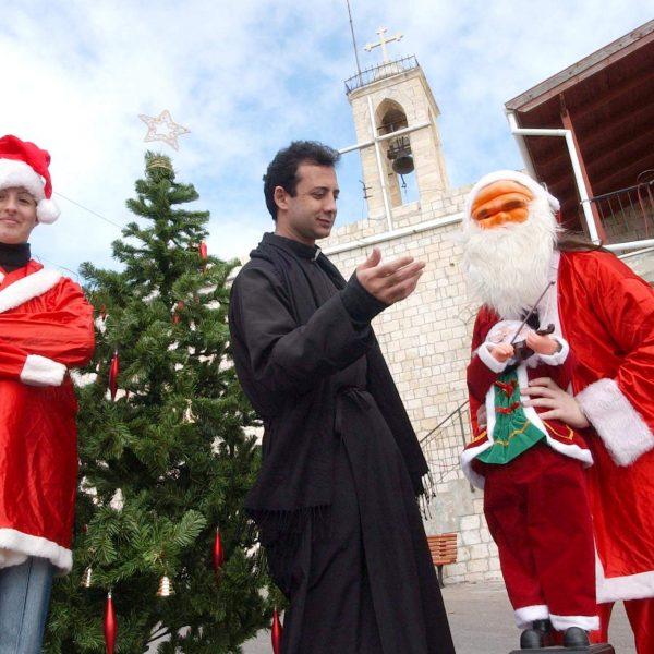 מירוץ כריסמס עם סנטה קלאוס